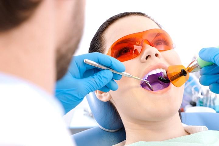 lazer diş tedavisi