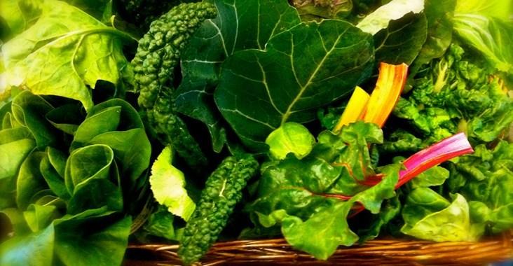 yesil-yapraklı-sebze ve dis